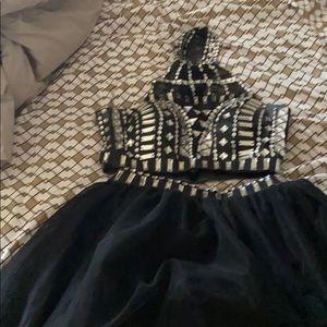 Dresses & Skirts - 2 piece junior homecoming dress/ prom dress